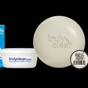 Truly Clear Acne Cleansing Bar With Case